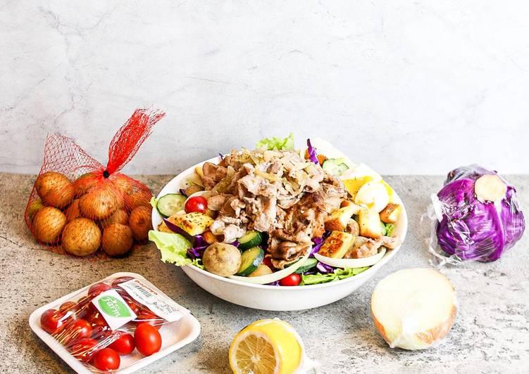 Salad Sayur Sehat MonsteHunge