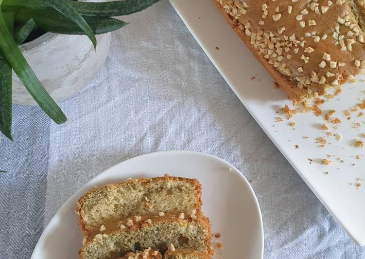 Cake marbré matcha