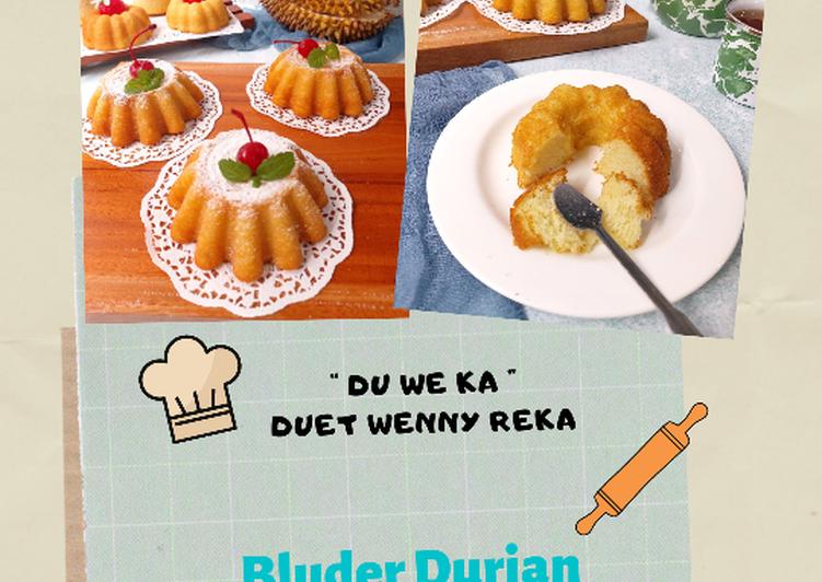Bluder Durian Tepung Beras