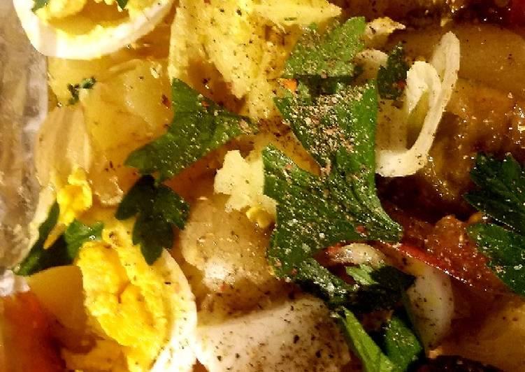 How to Prepare Homemade Easy light potato salad