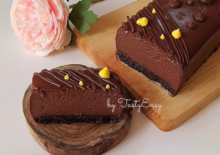 Dessert Coklat Oreo Lumer Tanpa Cetakan dan Tanpa Oven
