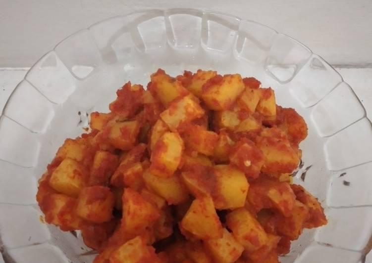 Sambel kentang polos