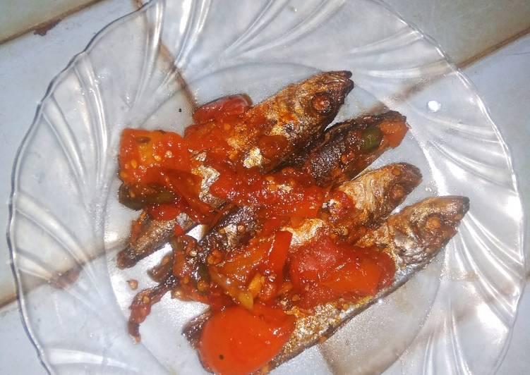 Oseng pindang sambal tomat