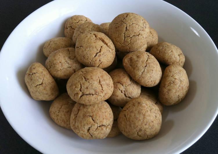 Simple Way to Prepare Homemade 'Kinako' Biscuits