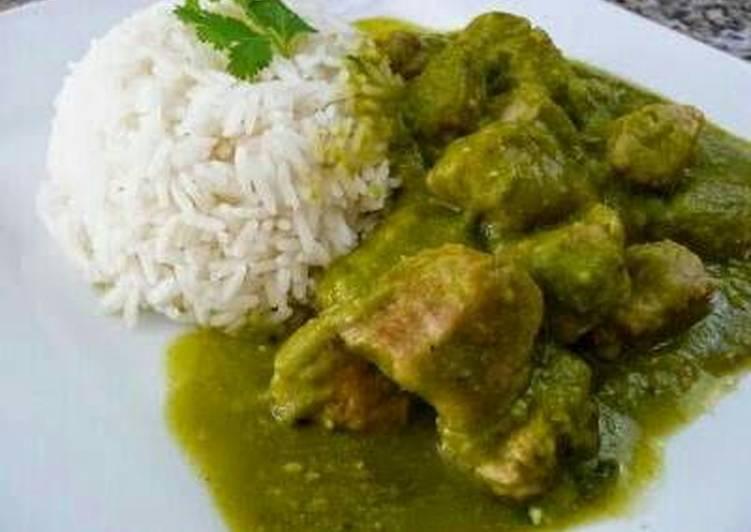 Costillitas En Salsa Verde Receta De Karylane Cookpad