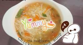 Hình ảnh món Chicken somen noodles soup - Mì somen thịt gà