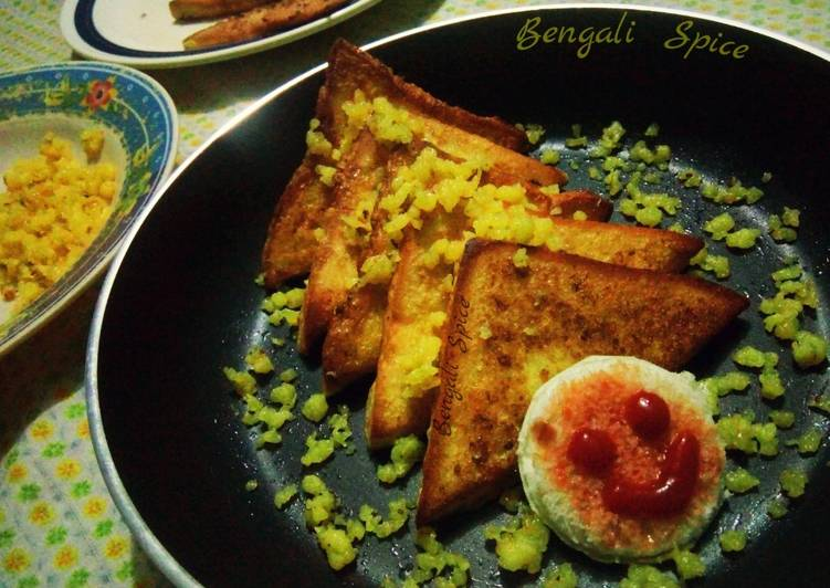 Easiest Way to Make Perfect Sweet French Toast ♥