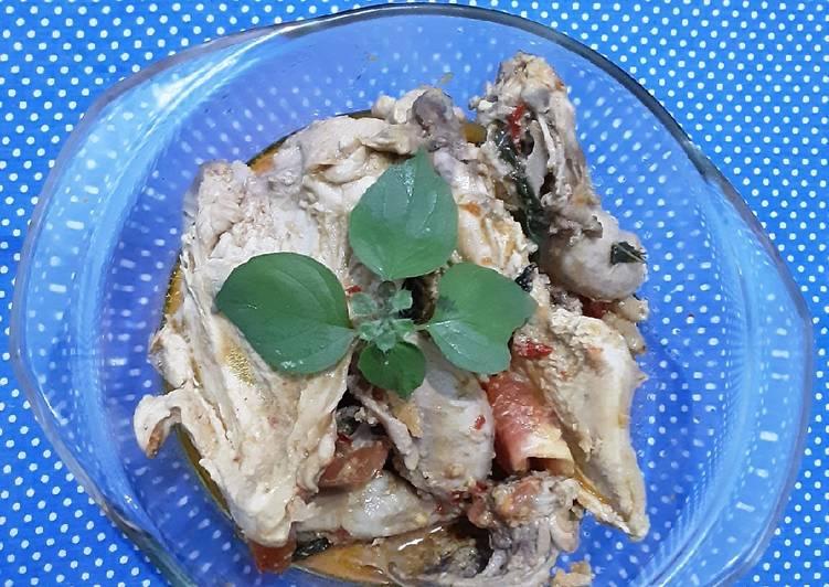 Resep Gulai ayam dengan kemangi, Sempurna