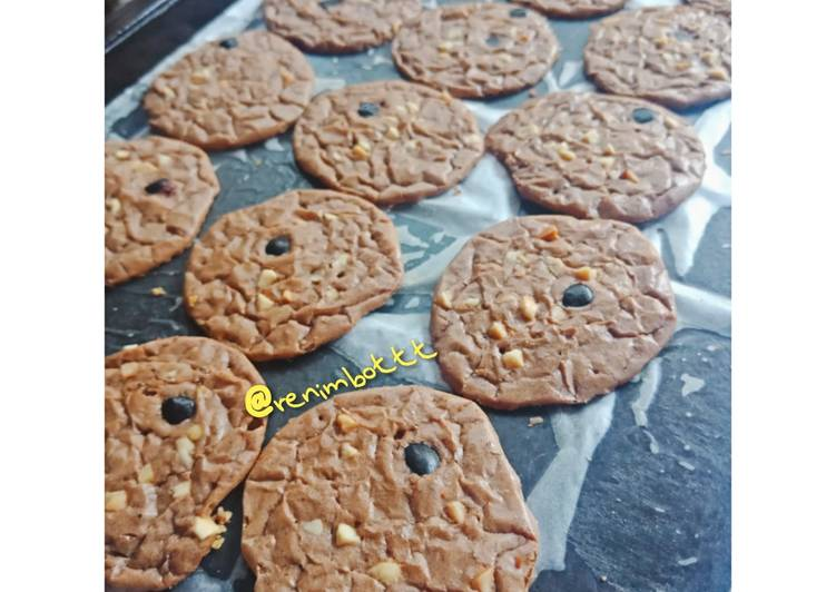 Shiny Brownies Cookies 🍪 LARIS BANGET NIH 😁