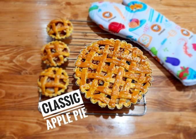 Classic Apple Pie Super Yummy & Crunchy