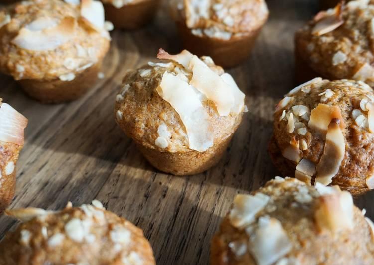 Banana muffins noix de coco (sans sucre)