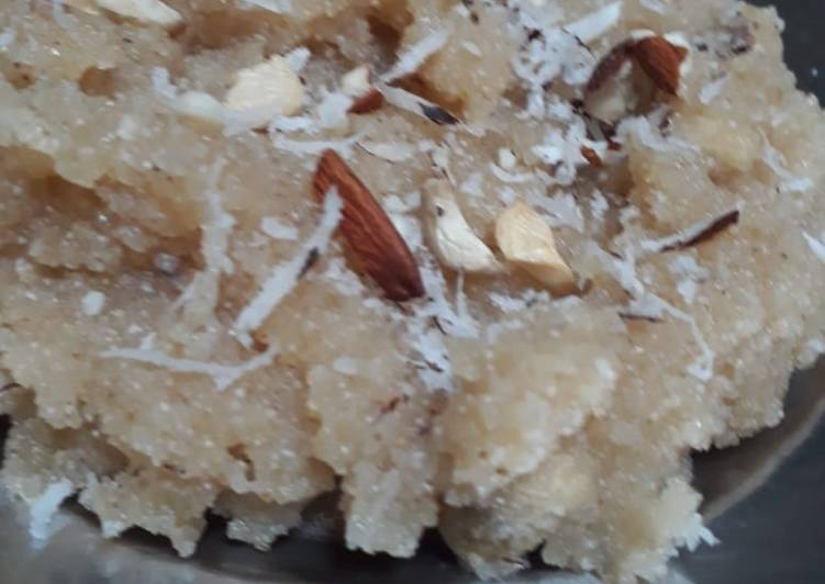 Recipe of Favorite Leftover sugar syrup halwa
