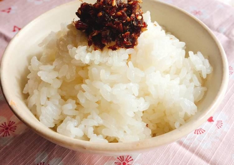 Recipe of Speedy Okaka - bonito rice seasoning