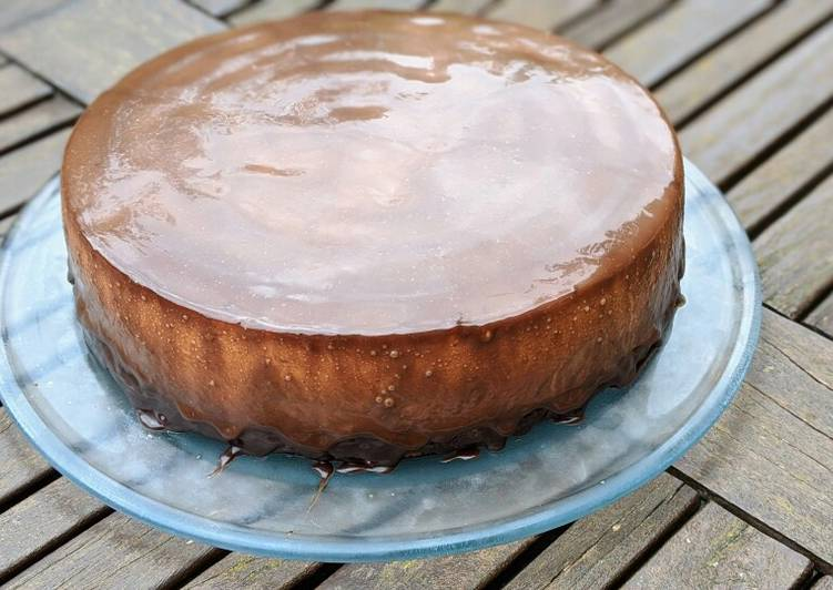 Recipe: Perfect Gâteau entremet chocolat poire
