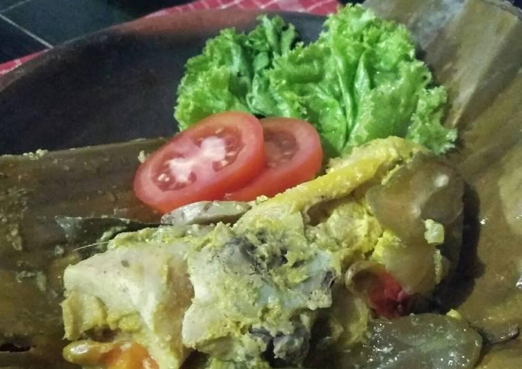 Resep Garang Asem Ayam (tanpa santan)