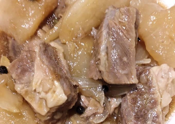 Beef with Radish