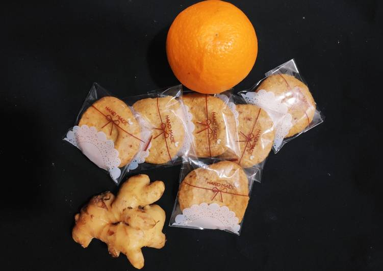 How to Make Ultimate Ginger Shortbread cookies