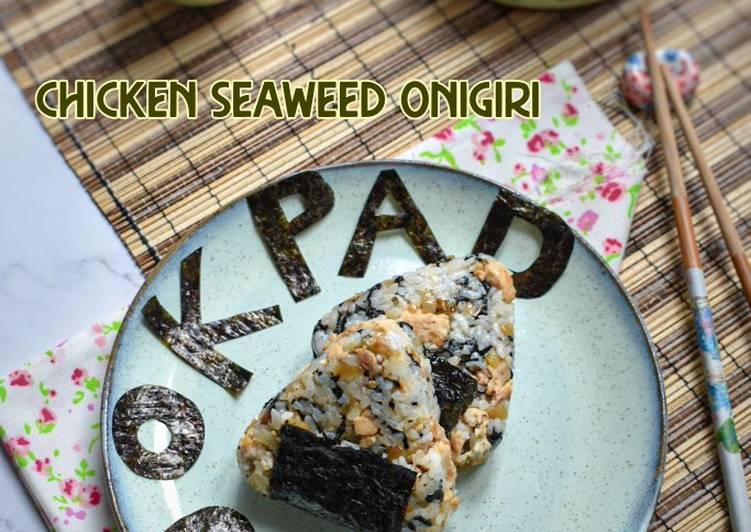 Chicken Seaweed Onigiri