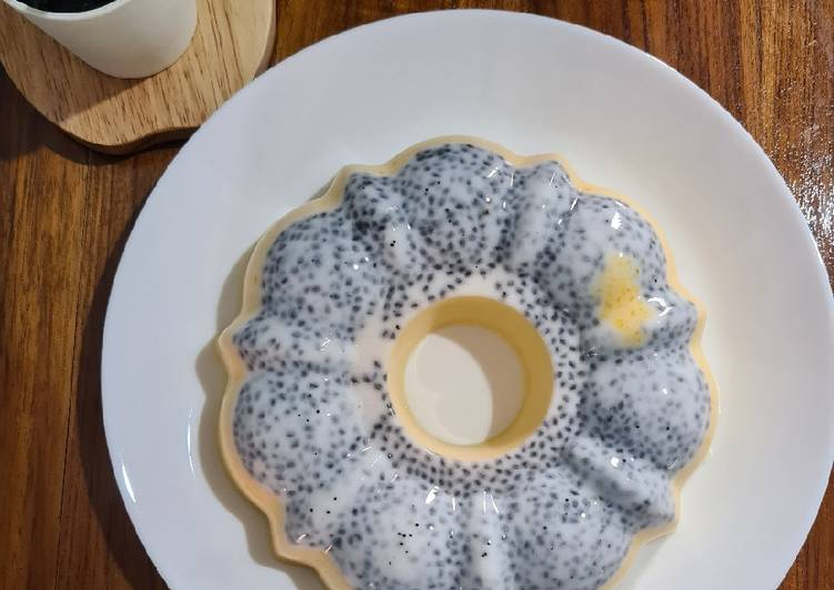 Pudding Susu Labu Kuning