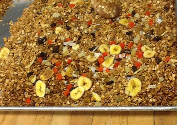How to Make Speedy Granola with tropical dried fruit