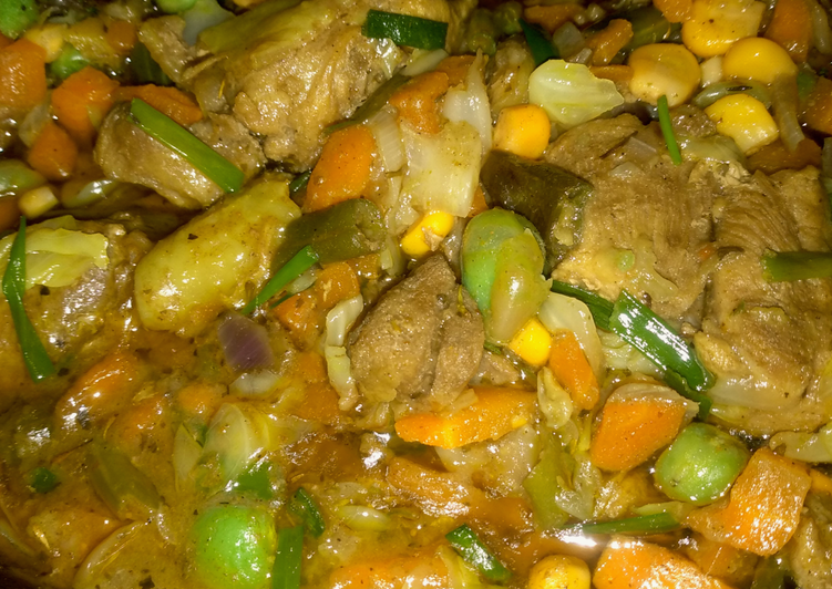 Curry Chicken Sauce Recipe By At Thekitchenmadonna Cookpad