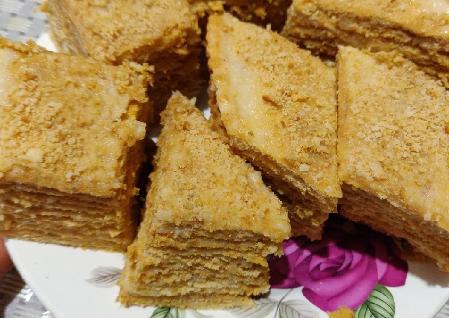 торт дездемона медовый рецепт с фото полоски это отличный