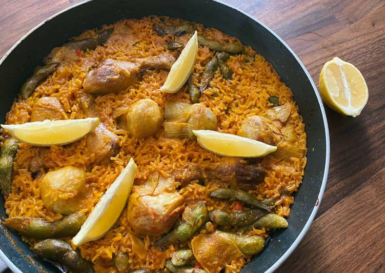Spanish Rice (Paella)