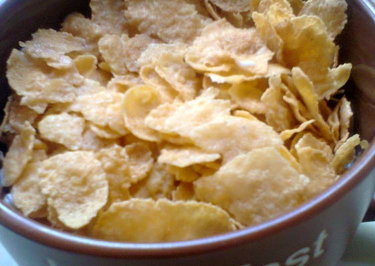 How to Make Super Quick Homemade Breakfast Cereal With Milk #throwbackthursdayfive