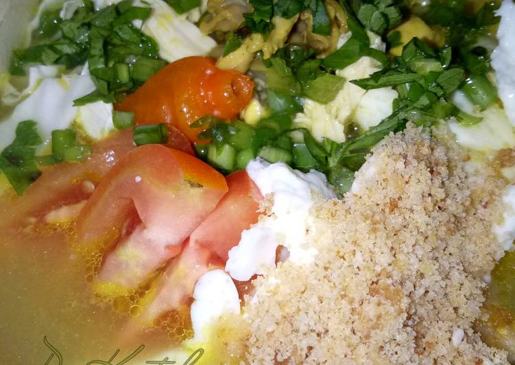 14. Soto Ayam Madura dengan Koya + Tips