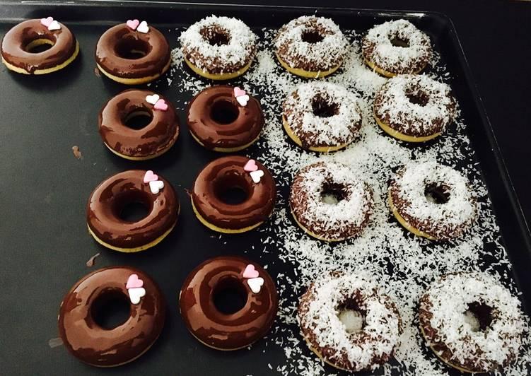 Comment faire Préparer Appétissante Mini donuts au four