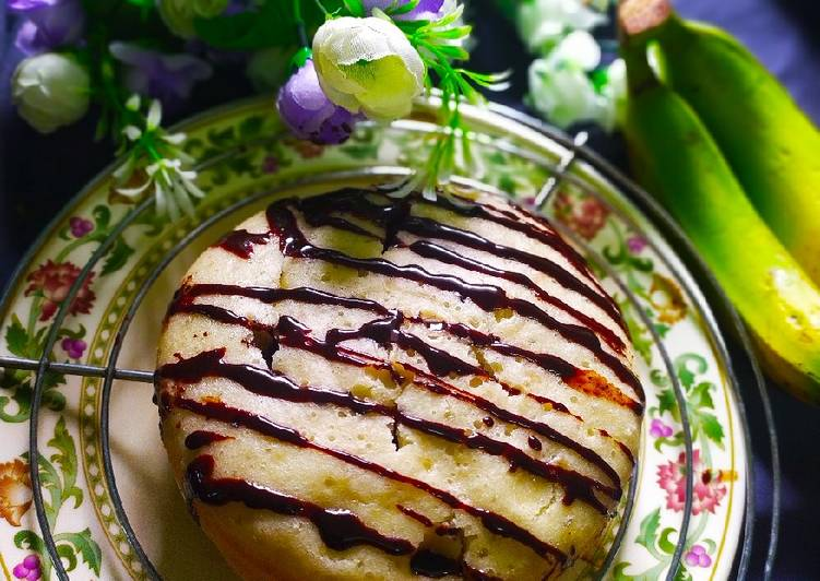 Banana Flavoured Vanilla cake