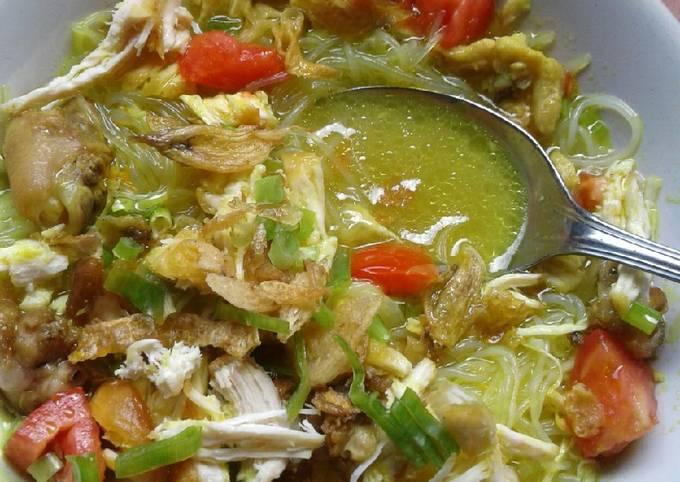 Langkah Mudah untuk Menyiapkan Soto Ayam Kuah Kuning, Bisa Manjain Lidah