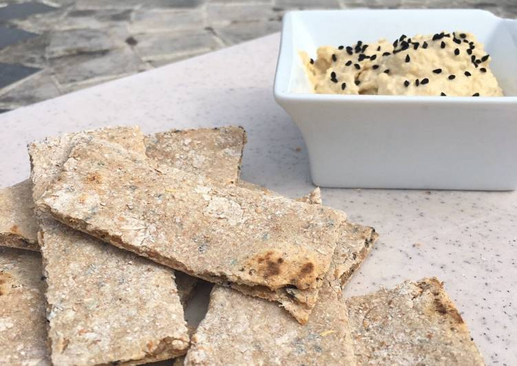 Recipe of Perfect Speedy Nigella Seed Spelt Flatbreads