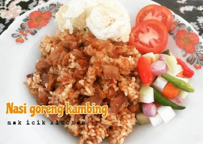 Nasi goreng kambing 🐏 ala mak icik