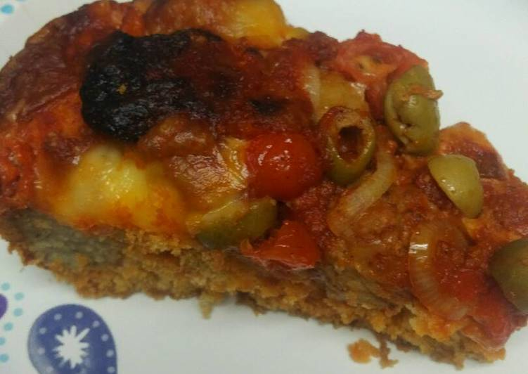 Easiest Way to Make Perfect Meatball Cornbread Baked Casserole/ Cornbread Pizza