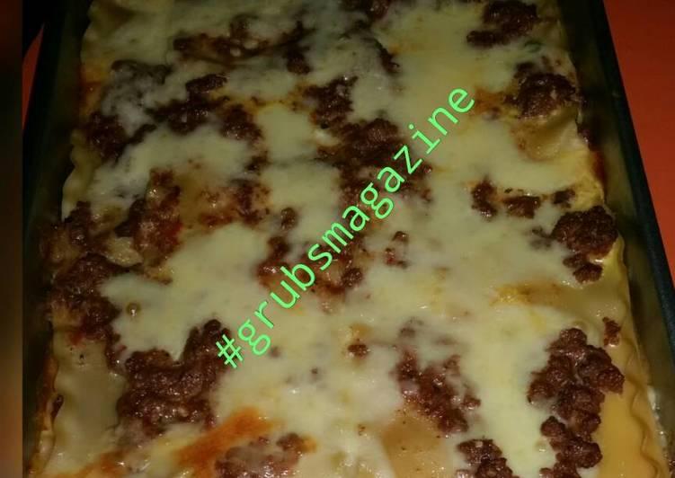 My First Lasagna Recipe
