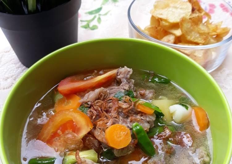 Resep Sop Janda Jawa Sunda Oleh Basmala Iis Almoktafi Cookpad