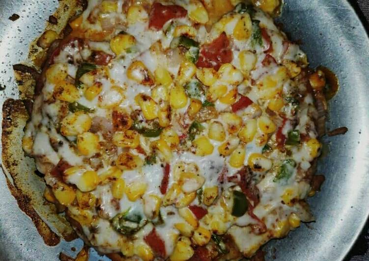 Veg corn pizza