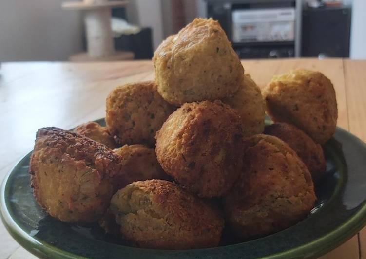 Falafel (albóndigas de garbanzo)
