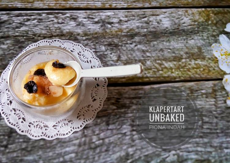 Resep Klapertart Unbaked Oleh Rooselina Cookpad