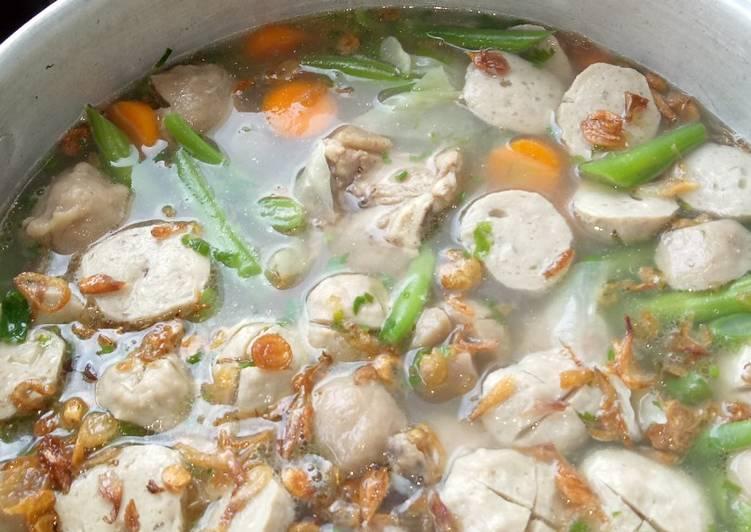Sup Bakso Sapi