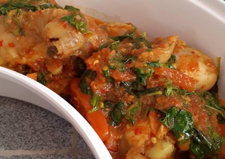 Cara Memasak Ayam woku kemangi praktis