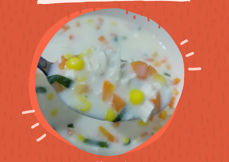 Resep Mudah 38. Cream Soup ala KFC Bikin Nagih