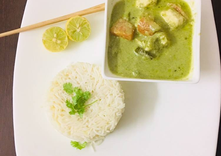 Simple Way to Prepare Speedy Paneer thai green curry