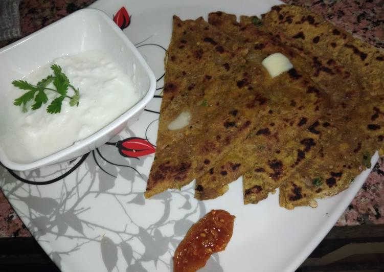 5 Minute Recipe of Homemade Chana Dal paratha