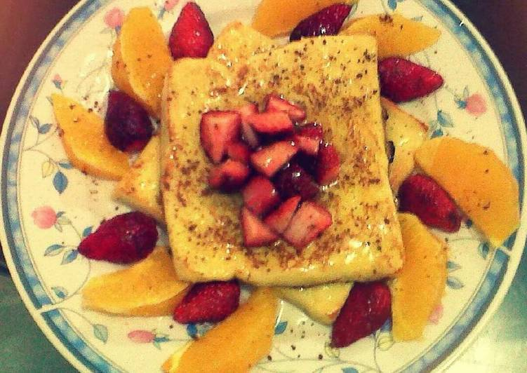 Fruity Fluffy French Toast