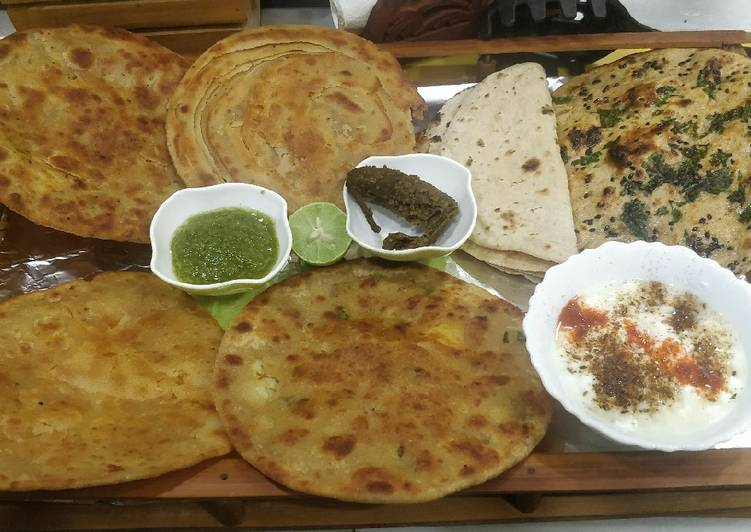 Recipe of Ultimate Indian Breads