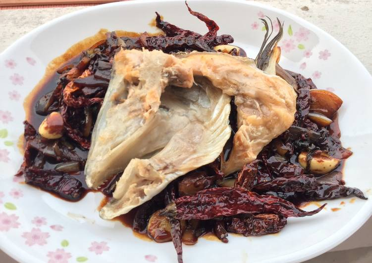 Salmon With Soy Sichuan Sauce