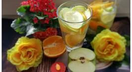 Hình ảnh món #Detox 10 - Thải độc và nạp thêm Vitamin [Táo,Cam]??