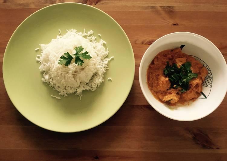 Recipe of Homemade Chicken tikka masala